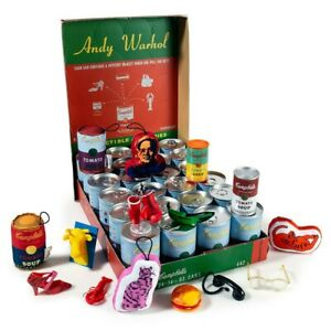 Andy Warhol Mini Series 2 Soup Can Mystery Pack