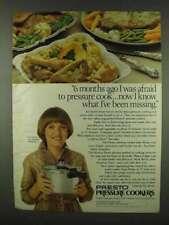 1978 Presto Pressure Cooker Ad - I Was Afraid