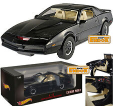 El Coche Fantástico Kitt 1/18 Hot Wheels Knight Rider Metal Diecast die-cast