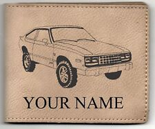 AMC Eagle SX4 Leather Billfold With Drawing and Your Name On It