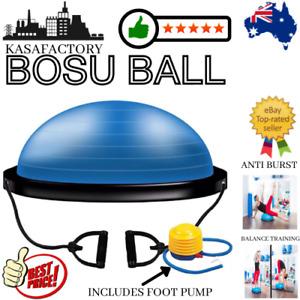 KASA Pilates Bosu Balance Ball Gym Training Exercise Half Fitness Pump Band Yoga