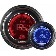 Prosport 52mm EVO Car Exhaust Gas Temperature EGT Red Blue LCD Digital Display