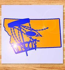 "6"" Montana Disc Golf Vinyl Decal"