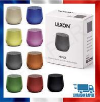 Enceinte Sans Fil Bluetooth Portable LEXON MINO Neuve Micro intégré