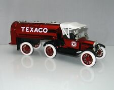 Ertl ~ Texaco 1918 Ford Runabout with Tanker Trailer Bank  1:25 scale