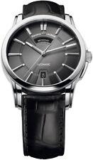 Maurice Lacroix Pontos Automatik Uhr Day/date Edelstahl grau