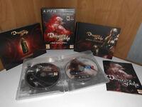 Demon's Souls - Black Phantom Edition UK PS3 Artbook Strategie Guide Demons