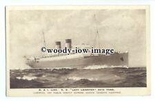 f1274 - B&I Line Ferry - Lady Leinster - postcard
