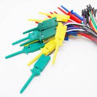 10Pcs 28cm Test Hook Clip For Logic Analyser Dupont Female Cable Raspberry Pi