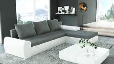 Sofa Couchgarnitur Ecksofa Couch MAGMA Wohnlandschaft mit Schlaffunktion NEU