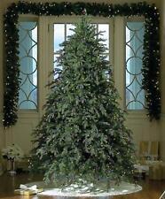 Northlight - 6.5' Pre-lit Hunter Fir Artificial Full Christmas Tree - Clear