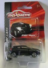 Majorette Model Car metal DieCast Premium Cars Renault Megane matt black 1/64