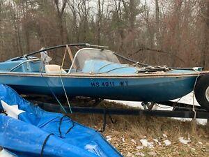 1974 Hydrodyne 18' Boat & Trailer - Massachusetts