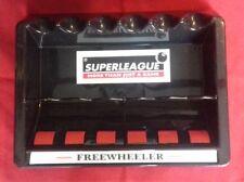 Superleague Freewheeler 6 cue rack Pool Snooker table Rollerball wall cue holder
