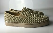 Christian Louboutin Roller Boat Spikes Slip-ons Loafers Shoes Eu size 41 US 8
