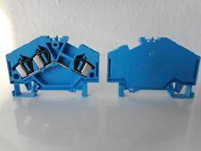 3- Leiter- Durchgangsklemmen, blau 281-651- WAGO - ( VE 86 Stück) - #7007