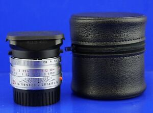 LEICA Summicron M 2/35 Asph. Silber/Chrom #3861469 35mm  TOMS-CAMERA-LADEN