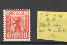 Alli. Besetzung, postfr, Nr 3A XIV, Fleck oben am I von Berlin
