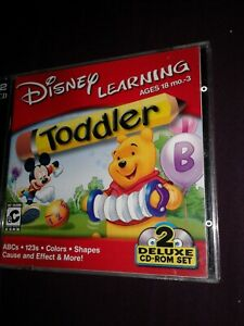 Disney Toddler Learning 2 cd set