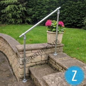 Variable Angle Mobility Hand Rail Outdoor Handrail Garden Step Safety Disabled Z