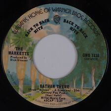 THE MARKETTS: Batman Theme / Out of Limits USA WB Surf Soundtrack 45 NM-