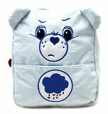 "Carebears Blue Plush 12"" inch Toddler Small Backpack"