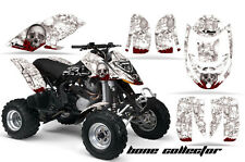 Can Am AMR Racing Graphics Sticker Kits ATV CanAm DS 650 Decals DS650 BONES WHT