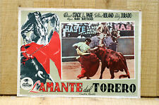 L'AMANTE DEL TORERO fotobusta poster Torero Corrida Bullfighter and the Lady B45