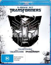 Transformers 123 Trilogy Blu Ray Box Set Revenge of the Fallen Dark of the Moon