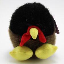 "Puffkins Turkey Plush Stuffed Animal Strut Swibco Thanksgiving 4"""