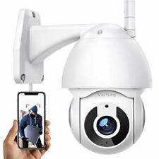 1080P Security Camera Outdoor Home 360° View Night Vision IP66 Motion Tracking