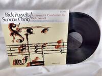 Rick Powell LP Sunday Choir Singcord 30195 Rare Xian 1978 VG++