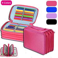 Large Capacity Pen Pencil Cases Stationery Pouch Bag Case School/College/Uni