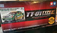 58638 Mercedes-Benz 190  Team Zakspeed Diebels Alt TT-01E w/ESC TAMIYA 1/10 RC