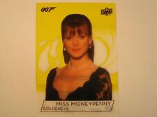 2019 Upper Deck James Bond 007 Trading Cards Samantha Bond Gold Acetate #160