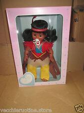 GABAR PENNA ROSSA BAMBOLA INDIANA PELLEROSSA doll poupee muneca vintage indios