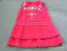 MONSOON? edles Velours Kleid festlich auch als Winterkleid? 6- 12 M.? Gr. 68- 74