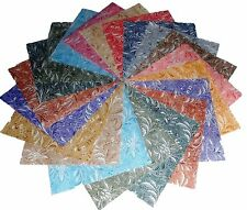 """75 4 inch Quilting Fabric Squares Beautiful Whisper Textureds !!!!!4"""""""
