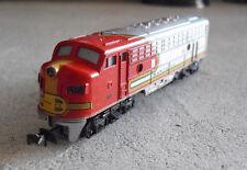 Vintage N Scale Trix W Germany Santa Fe 510 Locomotive #2