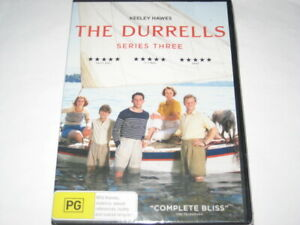 THE DURRELLS series 3 DVD R4 NEW/SEALED