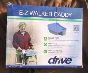 DRIVE E-Z Walker Caddy Tray Carrier Carry All Tote Storage Accessory Cup Holder