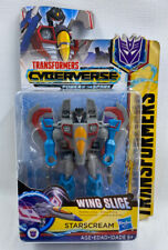 Transformers STARSCREAM Wing Slice Scout Class Cyberverse 2018