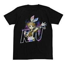 Kagamine Rin Cospa Cotton Character T-Shirt Black SIZE L Collection Anime Art