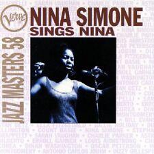 Nina Simone Sings Nina CD NEW SEALED 1996 Verve Jazz