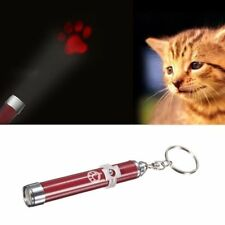 For Endless Fun Cat Play Cat LED Laser Pointer Toy With Bright Mouse Animation