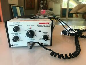 AMREX MS322 Low Volt AC Muscle Stimulator