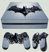 PS4 Fin Skin Arkham City Logo Batman PERSONNAGES Bat Symbole AUTOCOLLANT + PAD