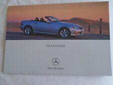 Mercedes SLK brochure Apr 2000