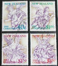 New Zealand – 1990 Christmas Set – Superb Used – (R2)