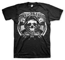 Officially Licensed Sons of Anarchy- SOA Supporter BIG&TALL 3XL,4XL,5XL T-Shirt